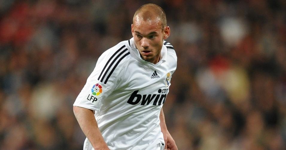 Sneijder pelo Real Madrid