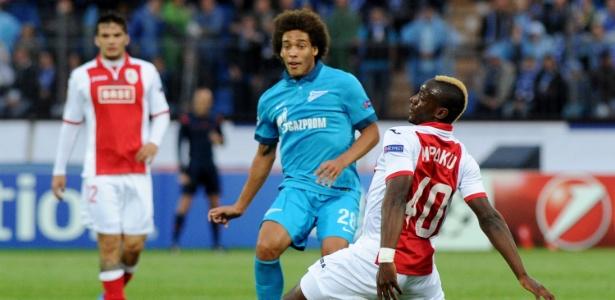Witsel chegou ao Zenit por 40 milhões de euros