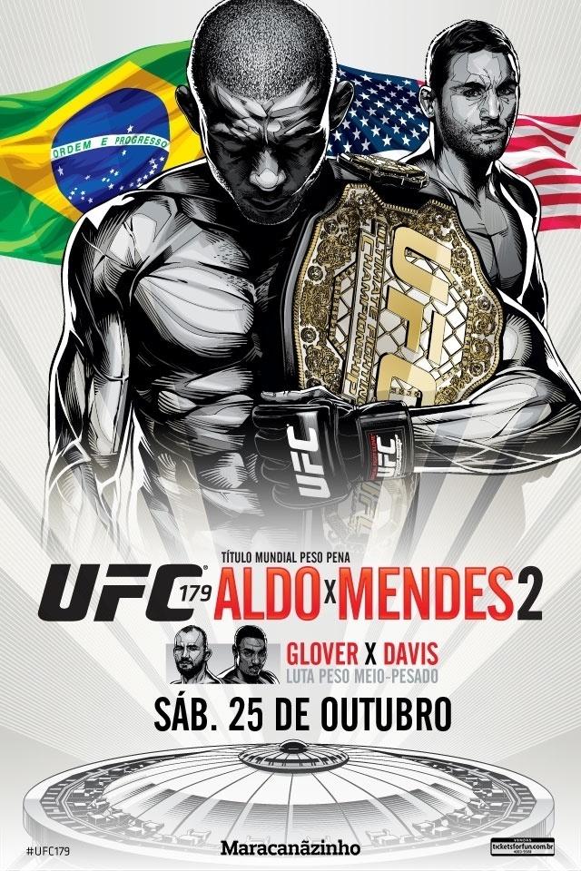 José Aldo ganha contornos de desenho na defesa de cinturão contra Chad Mendes no UFC 179, em 25 de outubro