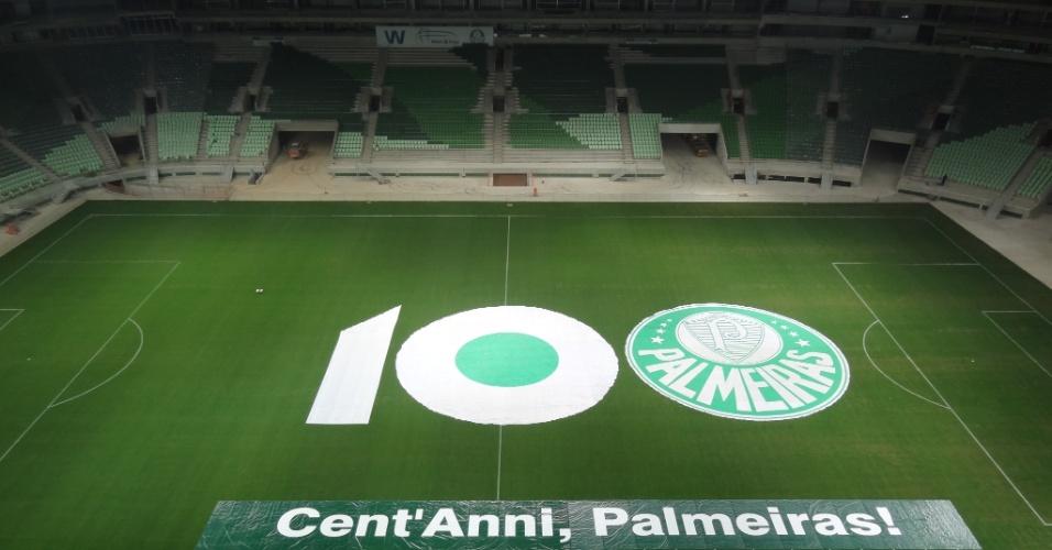 WTorre faz homenagem aos 100 anos do Palmeiras
