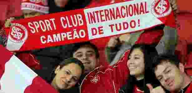 Internacional espera reaproximar torcedor sem condições financeiras do clube - AFP PHOTO / Jefferson BERNARDES