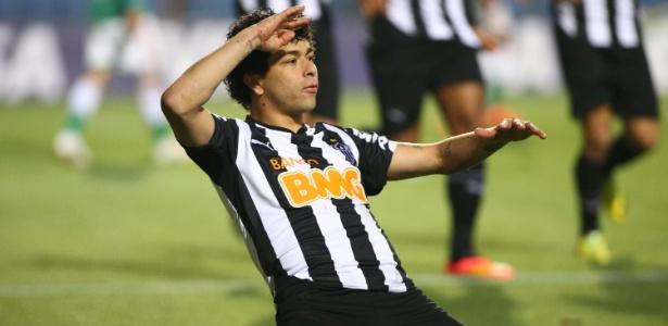 Em 2014, Luan marcou em todas as fases, contra Palmeiras, Corinthians, Fla e Cruzeiro