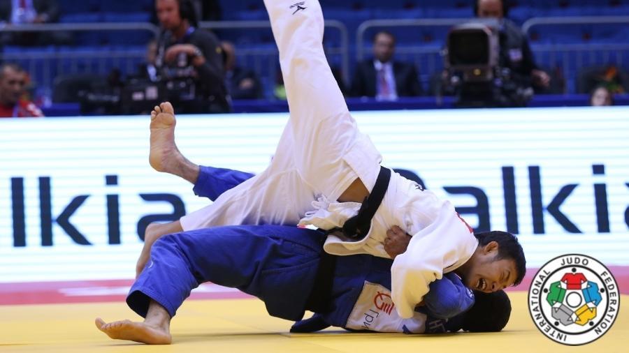 Judoca japonês Takato Naohisa conquistou a primeira medalha de ouro do Japão nas Olimpíadas - IJF Media by G. Sabau and Zahonyi