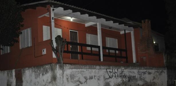 Casa onde mora Patrícia Moreira, que praticou por atos racistas contra Aranha - Marinho Saldanha/UOL
