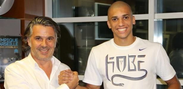 Zagueiro Dória, atualmente no Olympique de Marseille, foi procurado pelo Atlético-MG