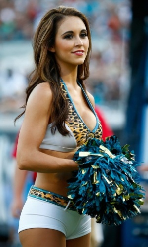 Cheerleader do Jacksonville Jaguars