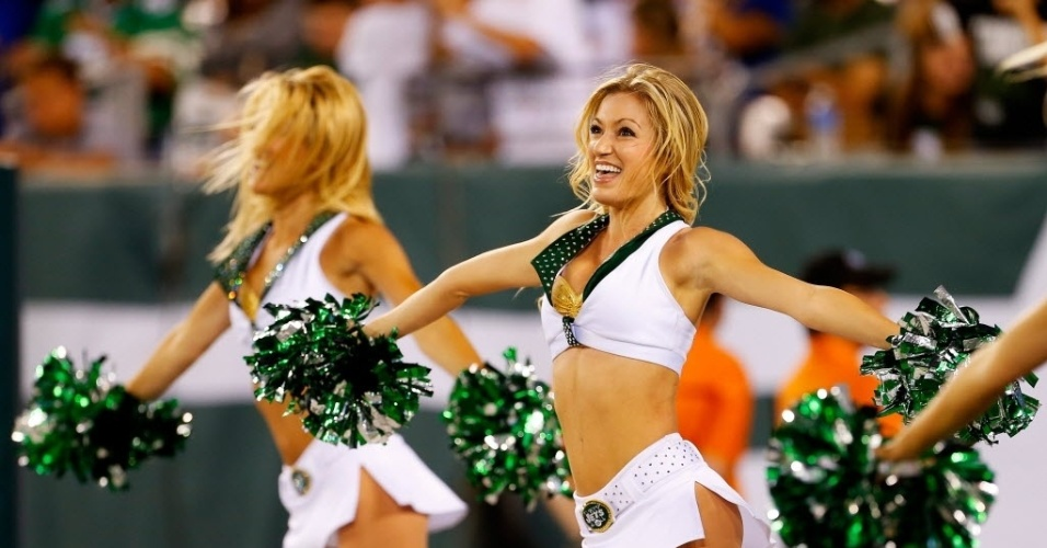 Cheerleader do New York Jets