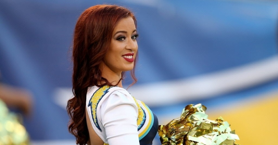 Cheerleader do San Diego Chargers