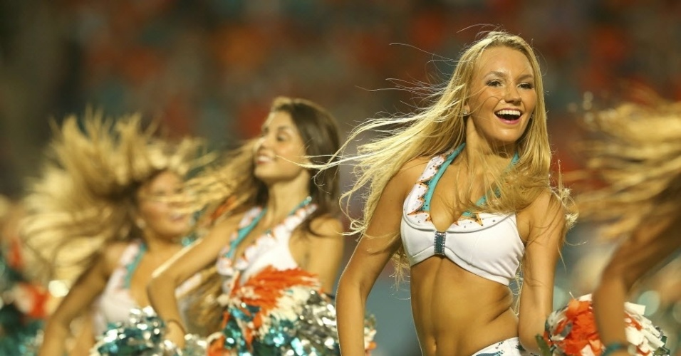 Cheerleaders do Miami Dolphins