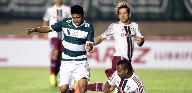 Em 2014, Goiás superou Fluminense e seguiu na Copa Sul-Americana
