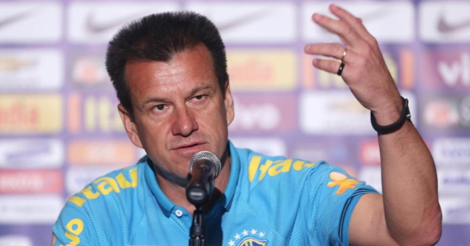 Dunga fala sobre a preparação da seleção brasileira