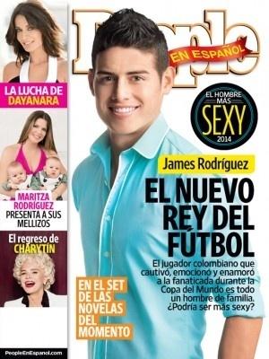James Rodríguez na capa da revista People En Español