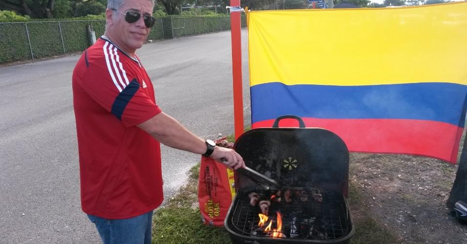 Torcedores do Brasil x Colômbia se reúnem em Miami antes do amistoso entre as duas seleções