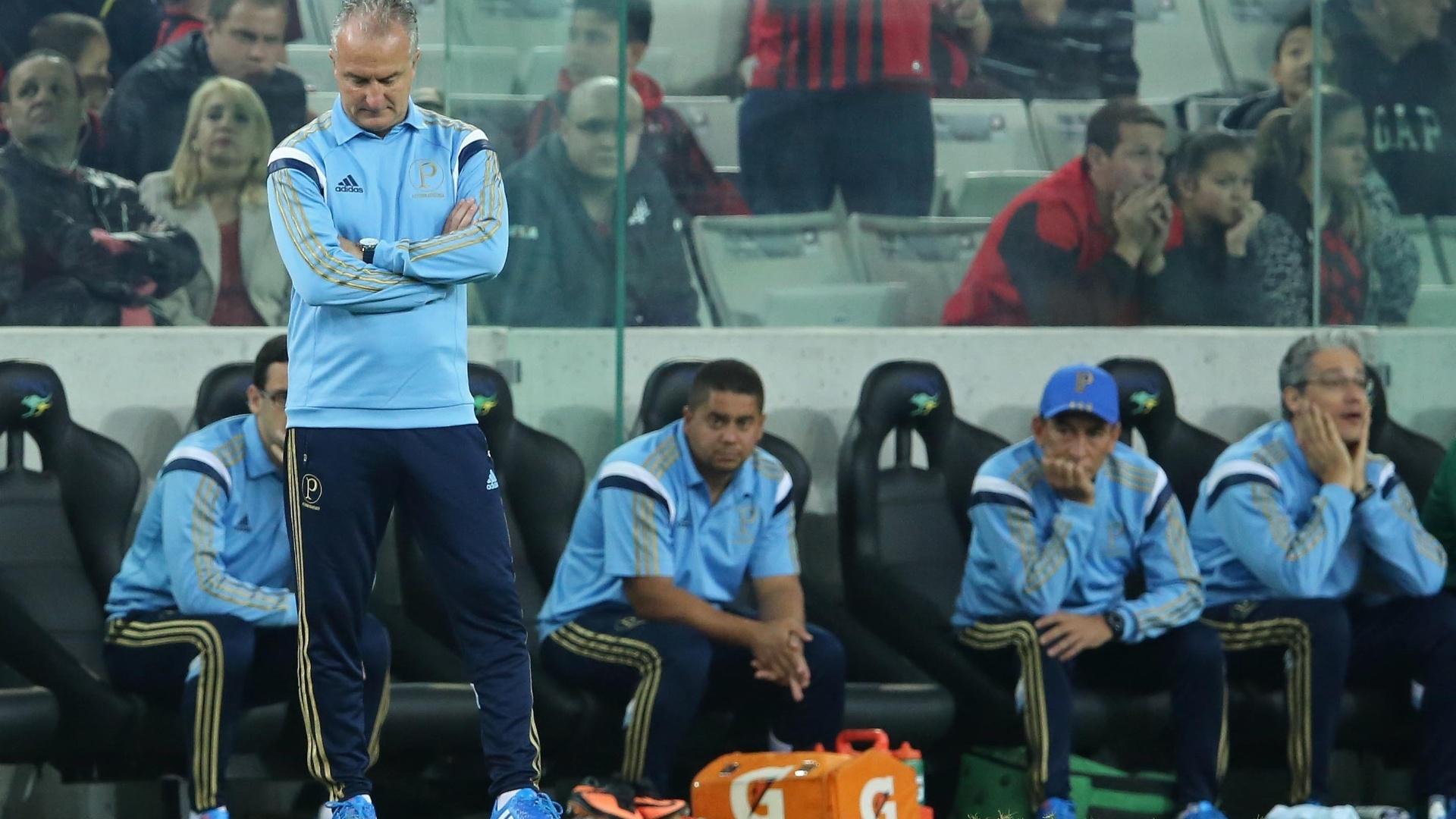 Dorival Júnior faz sua estreia como técnico do Palmeiras contra o Atlético-PR