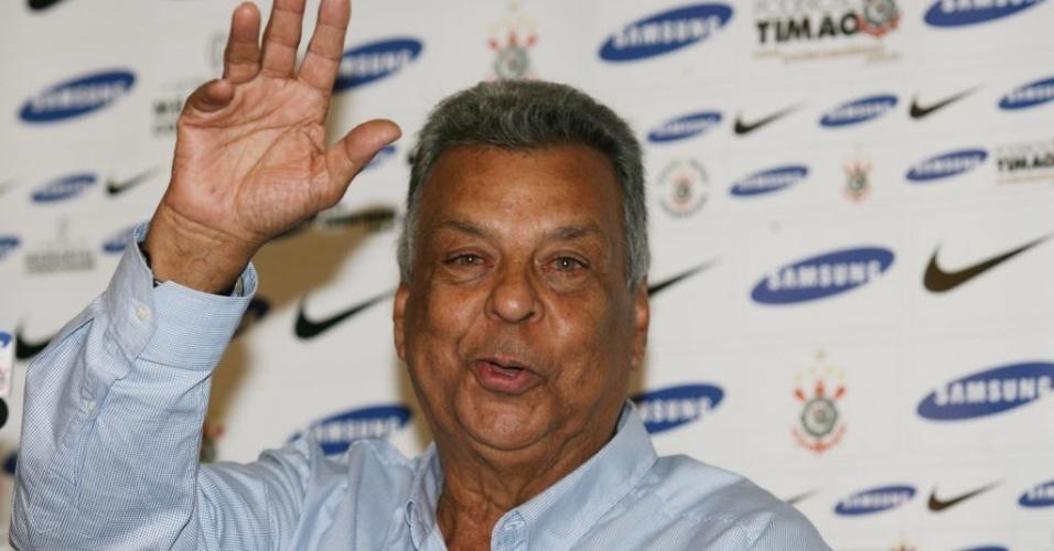 Ex-treinador Cilinho, que comandou o São Paulo e o Corinthians