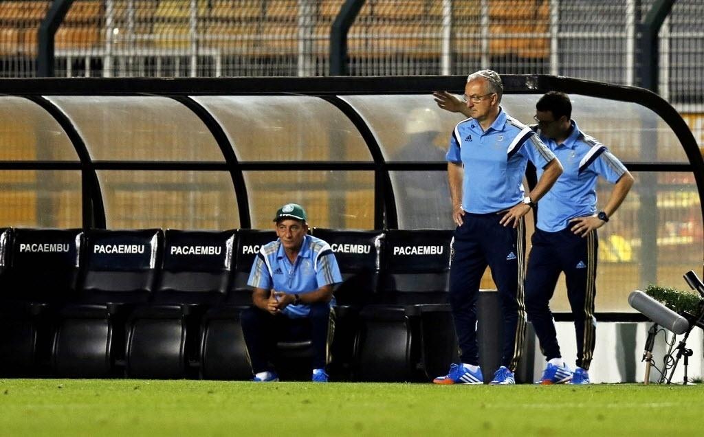 Dorival Júnior comanda Palmeiras pela primeira vez no Pacaembu em jogo contra o Criciúma