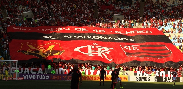 A torcida do Flamengo promete apoiar o time nas arquibancadas do Maracanã