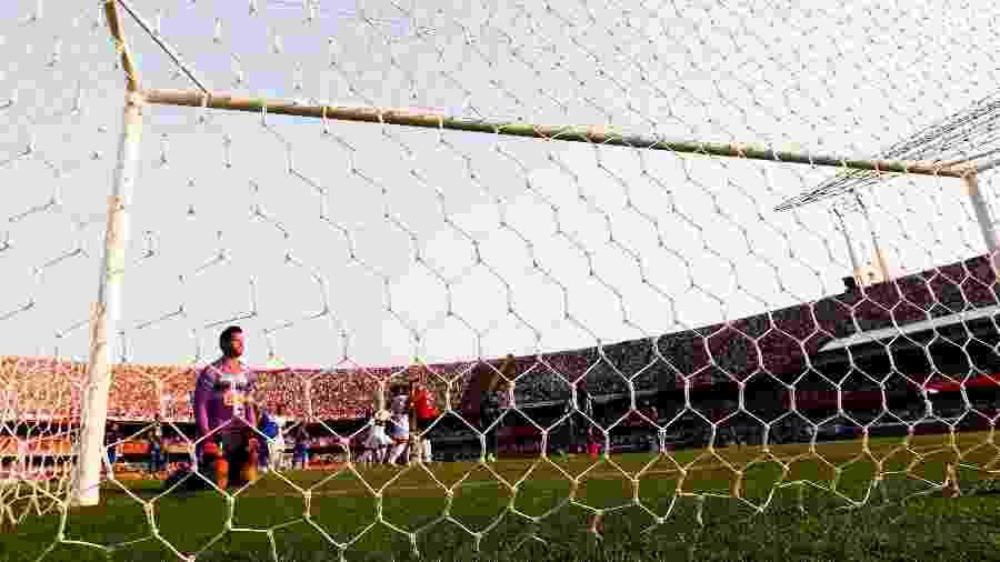 Fábio sofreu sete gols de Rogério Ceni, seis deles pelo Cruzeiro e um quando defendia o Vasco - Alexandre Schneider/Getty Image