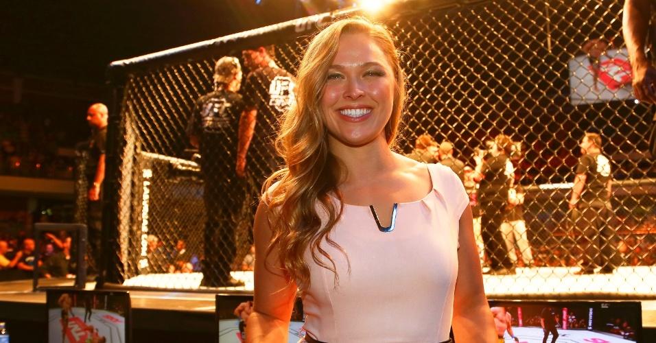 Ronda Rousey marcou presença do UFC Brasília