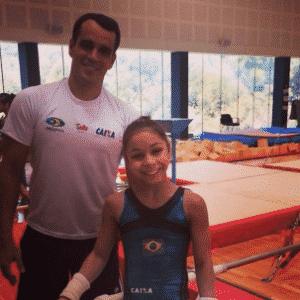 Alexandre Cuia é o técnico responsável por trabalhar com Flávia. O objetivo é classificá-la para a final olímpica em 2016 - Reprodução/Instagram
