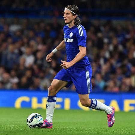 Filipe Luís em sua passagem pelo Chelsea - AFP PHOTO/BEN STANSALL
