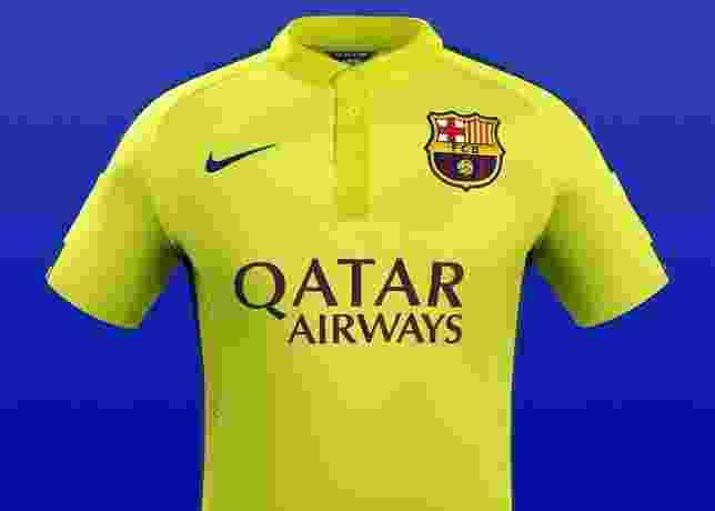Fotos  Nike repete modelo de camisas com times europeus - 17 09 2014 ... ec7cecb46c6