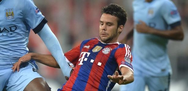 Juan Bernat, lateral do Bayern, criticou estilo de jogo do Atlético de Madri - AFP PHOTO / GUENTER SCHIFFMANN