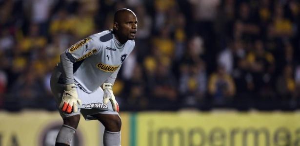 Goleiro Jefferson fez ao menos cinco grandes defesas para o Botafogo contra o Bahia