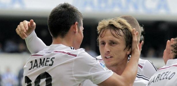 Modric herdará camisa 10 de James Rodríguez - EFE/Lavandeira Jr