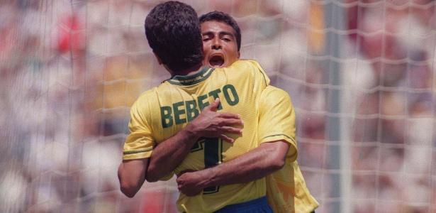 Sucesso absoluto na Copa de 1994, Romário e Bebeto podem se reencontrar na política - Antônio Gaudério/Folhapress