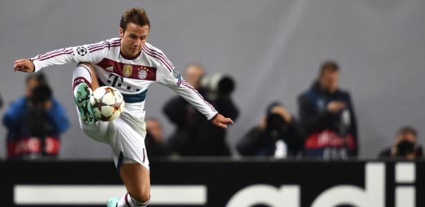 Mario Gotze não conseguiu se firmar com a camisa do Bayern de Munique - AFP PHOTO / KIRILL KUDRYAVTSEV