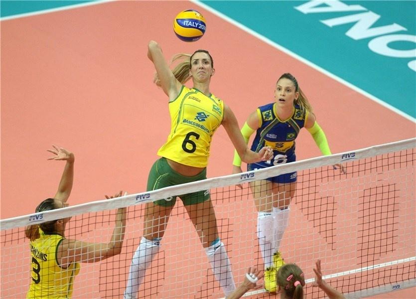 Thaísa foi a jogadora brasileira mais efetiva em quase todos os fundamentos