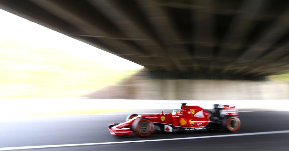 Alonso participa do terceiro treino livre para o GP do Japão