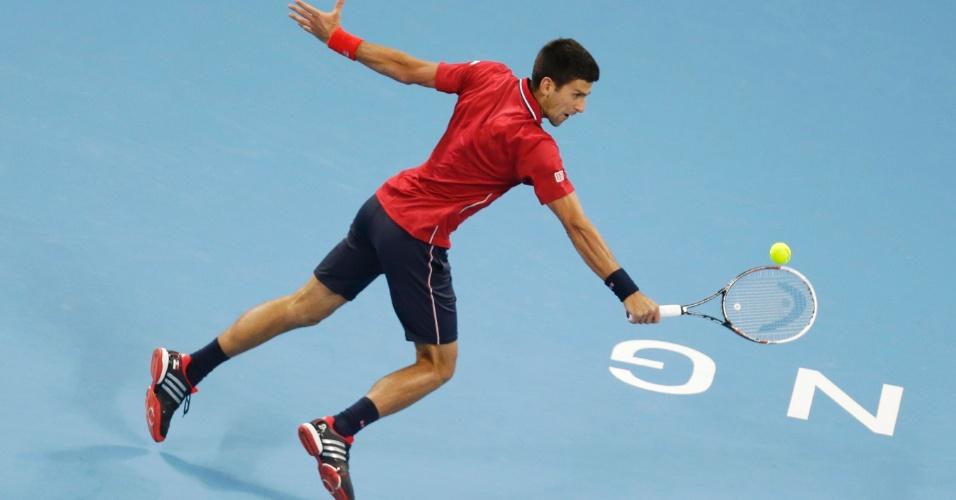 Novak Djokovic rebate boal na vitória sobre tomas Berdych no ATP 500 de Pequim