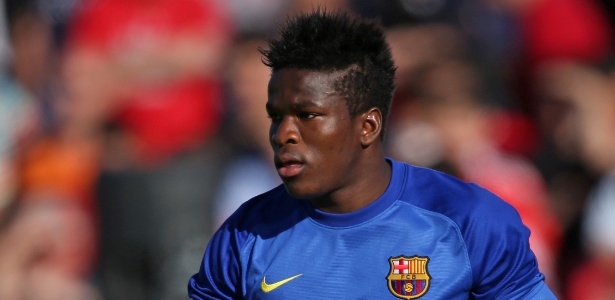 Fabrice Ondoa, goleiro do Barcelona B e da seleção de Camarões