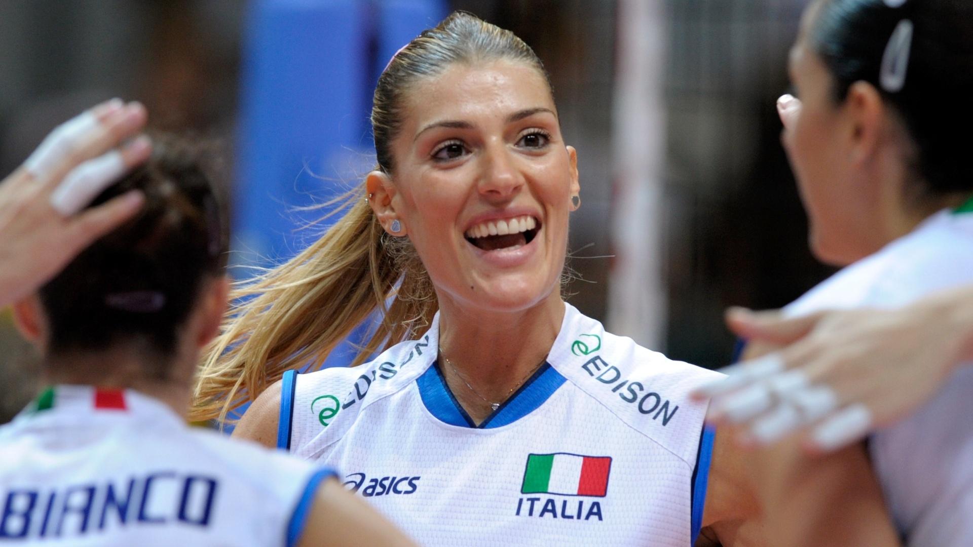 Piccinini disputou também o Campeonato Europeu em 2011
