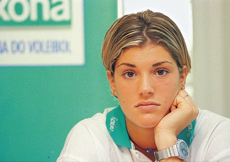 Piccinini foi ao Brasil em 1998, contratada pelo Rexona