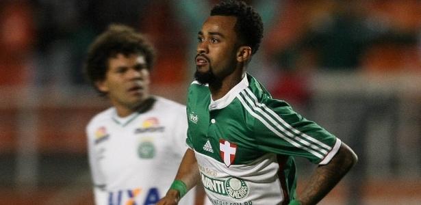 Wesley nos tempos de Palmeiras; volante foi mal e saiu para o São Paulo