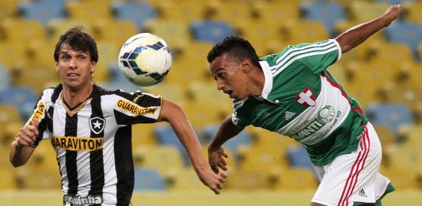 Juninho estava no Palmeiras desde 2012