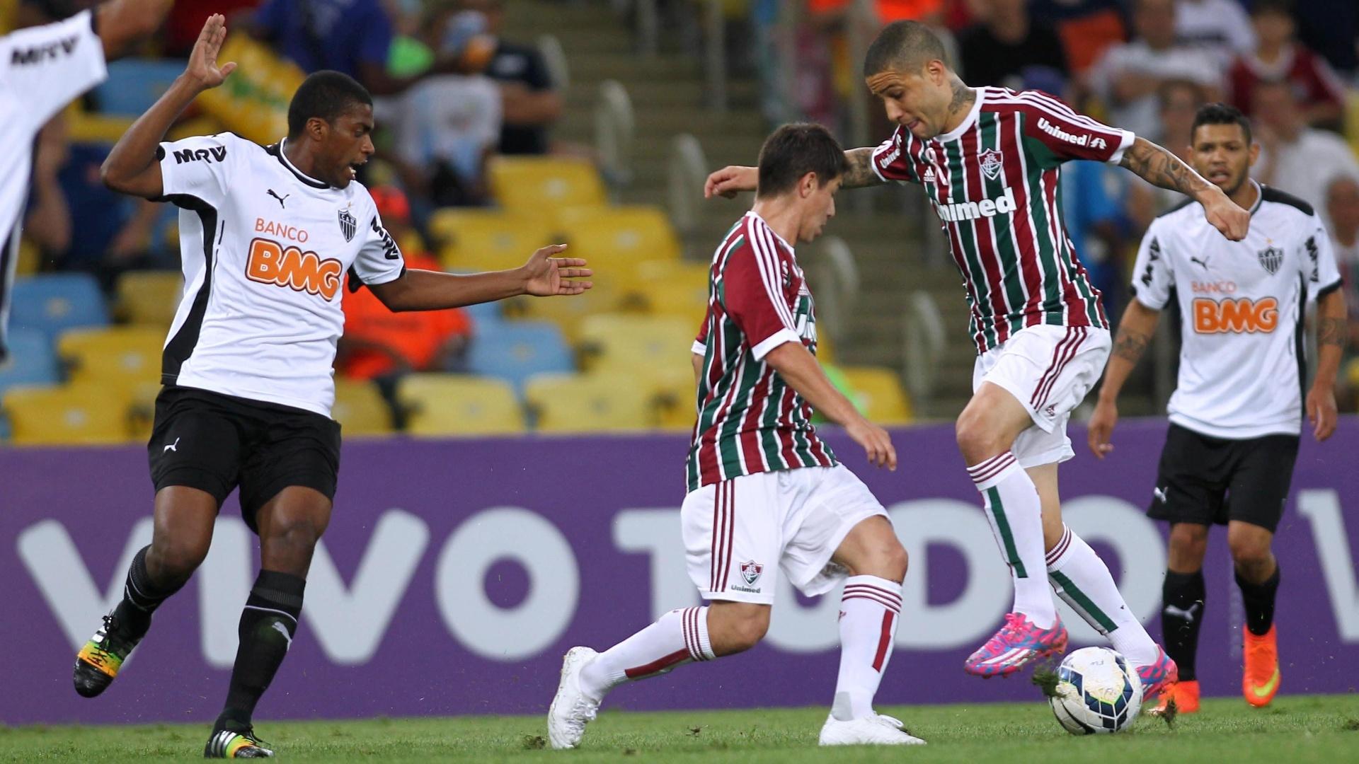 Bruno e Conca tentam domínio entre os marcadores do Atlético-MG