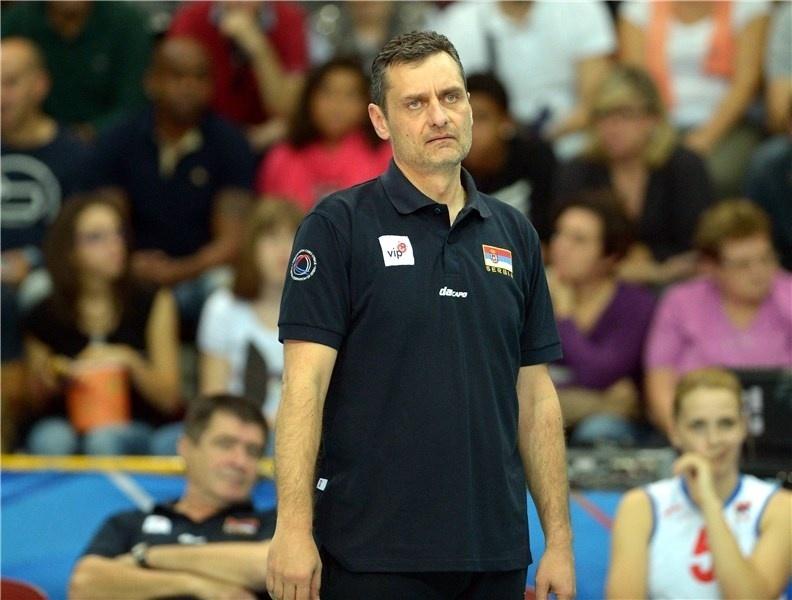 Zoran Terzic é técnico da Sérvia e tio de Djokovic