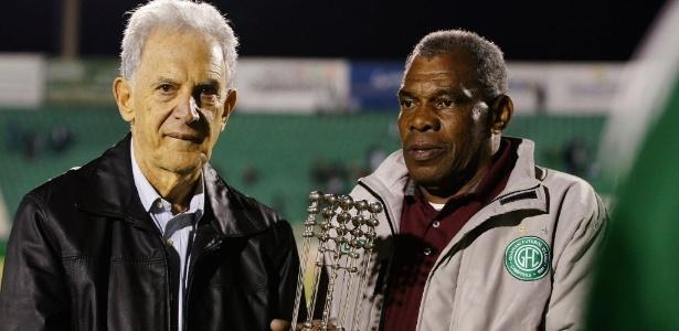 Ex-goleiro (à direita) tinha 66 anos e lutava contra um câncer de medula