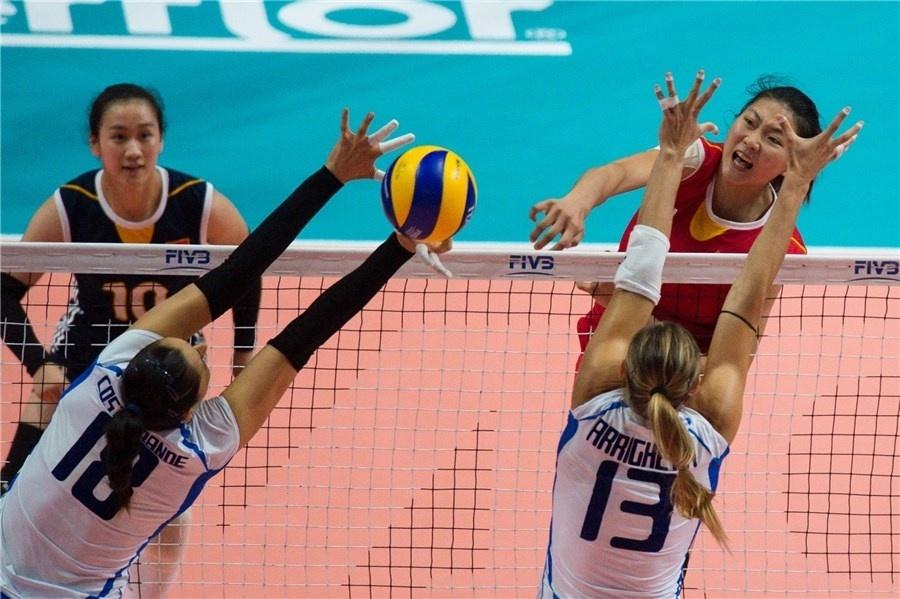 China e Itália se enfrentam pela semifinal do Mundial de Vôlei
