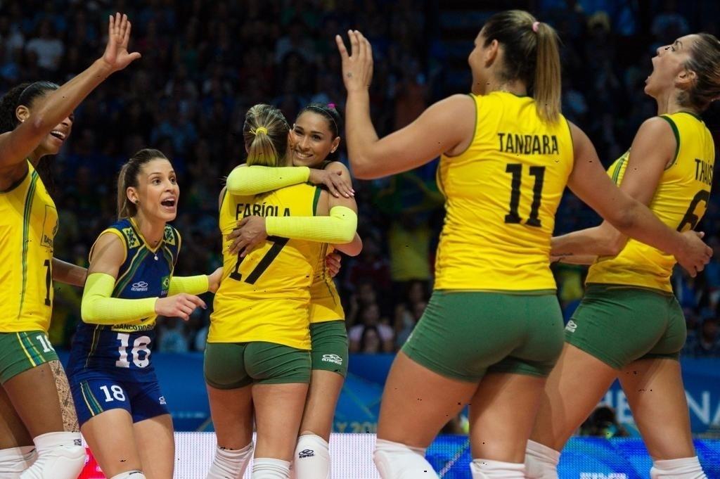 Brasil vence o primeiro set na disputa de terceiro lugar com a Itália