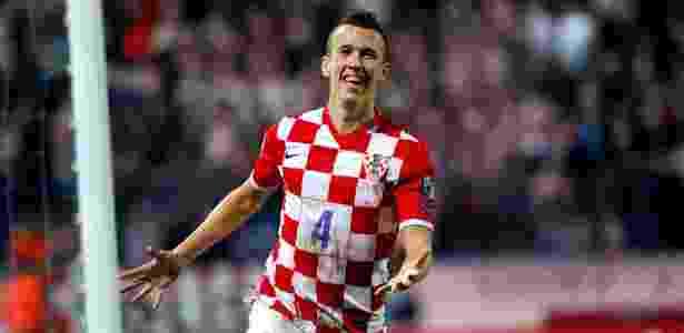 Ivan Perisic (Croácia) - AFP PHOTO/STRINGER - AFP PHOTO/STRINGER
