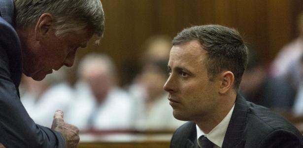 Oscar Pistorius foi condenado a cinco anos de prisão por homicídio culposo - EFE/MARCO LONGARI