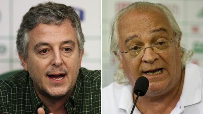 Paulo Nobre e Wlademir Pescarmona serão candidatos à presidência do Palmeiras