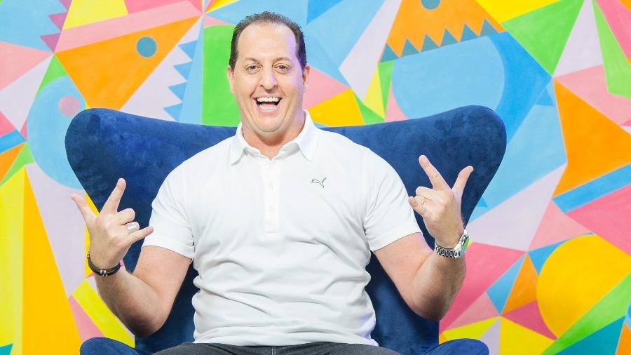 """Benjamin Back comandava o talk show """"Aqui com Benja"""" no Fox Sports: programa foi cancelado após sua saída - Edu Moraes/Divulgação/Fox Sports"""