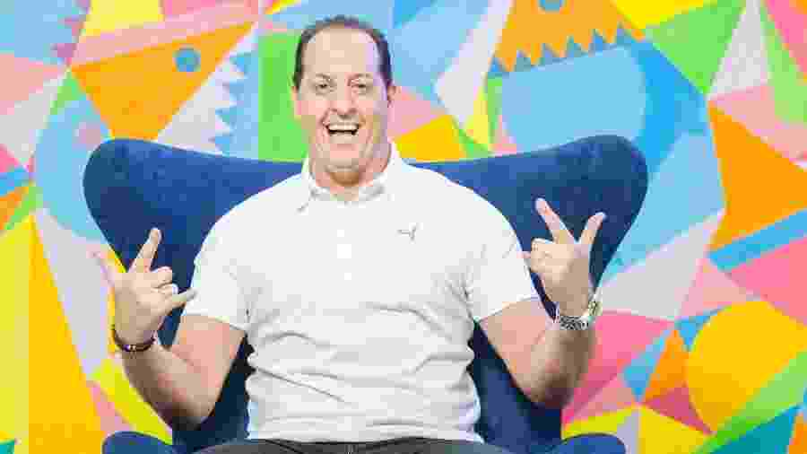 """Benjamin Back comanda o talk show """"Aqui com Benja"""" no Fox Sports: apresentador vai assinar com SBT - Edu Moraes/Divulgação/Fox Sports"""