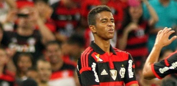 Gabriel não sabe se estará em campo contra o Santos - Vlademir Alexandre/VIPCOMM